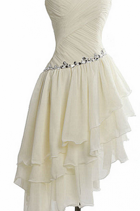 A-Line Chiffon Homecoming Dress,Sweetheart Homecoming Dresses