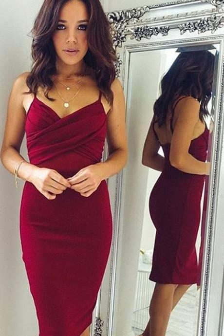 Homecoming Dresses, Junior Homecoming Dresses,Rhinestone homecoming dress, Sexy Backless