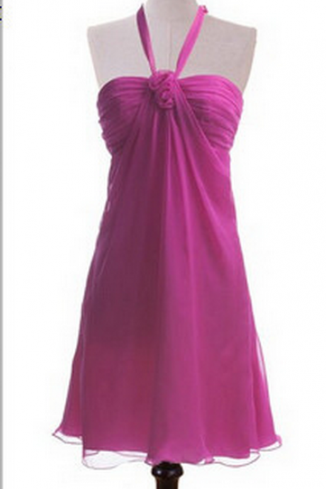 Sexy A-line Homecoming Dresses,Backless Ruched Homecoming Dress,Purple Chiffon Homecoming Dress