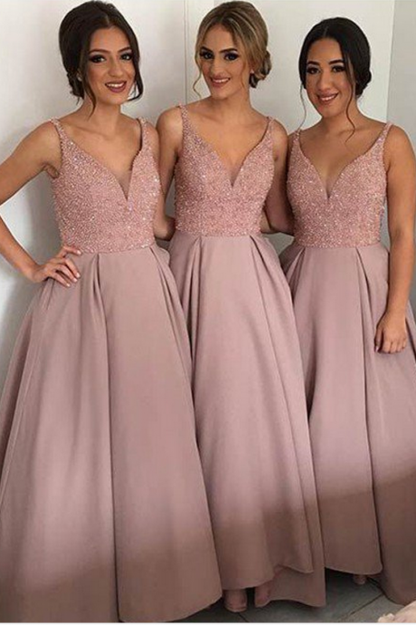 A line bridesmaid dresses,Lace bridesmaid dresses, Long bridesmaid dresses, Cheap bridesmaid
