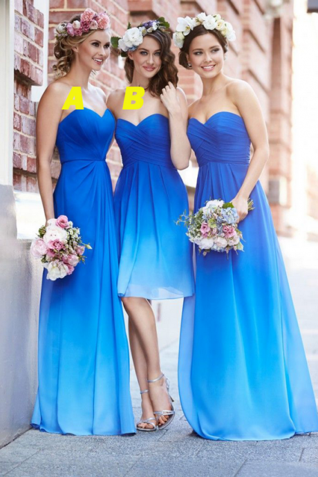 Bridesmaid Dresses, Bridesmaid Dress,Long Bridesmaid Dresses,Sweetheart Bridesmaid Dresses,Bridesmaid