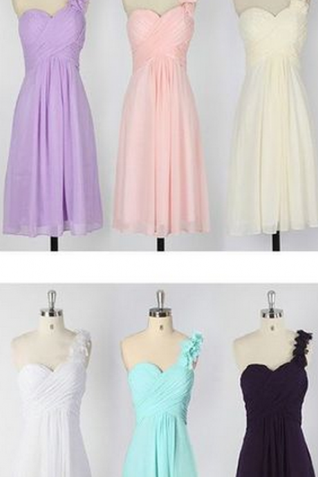 Short bridesmaid dress, Chiffon bridesmaid dress, cheap bridesmaid dress,bridesmaid dresses,
