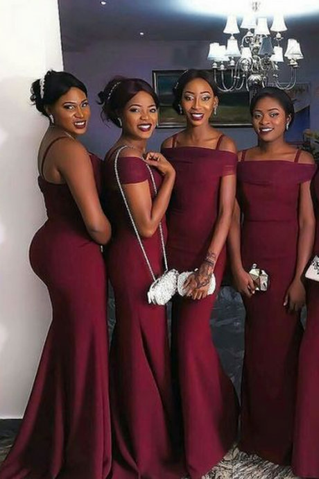 Sexy Bridesmaid Dress,Mermaid Bridesmaid Dresses