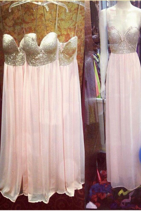 Prom Dresses,Evening Dress,long bridesmaid dress,sweetheart bridesmaid dress ,Spaghetti Straps bridesmaid dress,