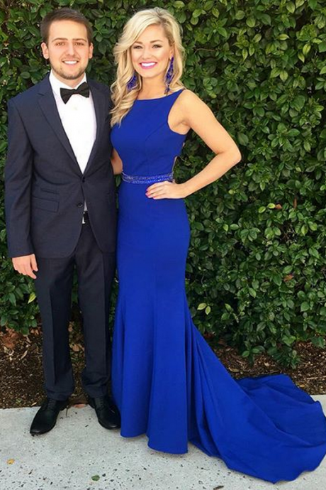 Evening Dresses, Prom Dresses,Party Dresses,Prom Gown,Royal blue Prom Dresses