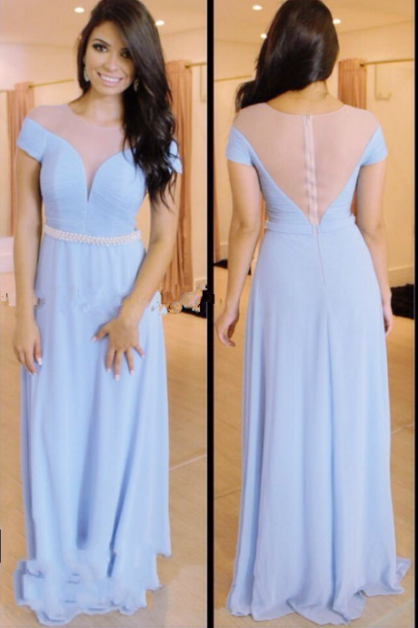 New Style Prom Dress,Chiffon Prom Dress,Party Dress,A-Line Prom Dress