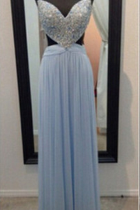 Sexy Long prom dress Beading Prom Dress Elegant Women dress,Party dress Evening Dress