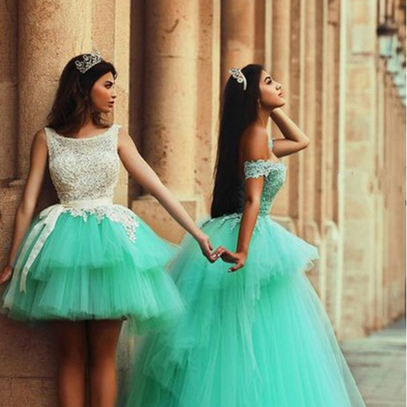 Illusion Sleeveless Homecoming Dress,Short Tulle Homecoming Dresses