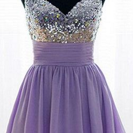 Charming Homecoming Dress,Beading Homecoming Dresses,Short Homecoming