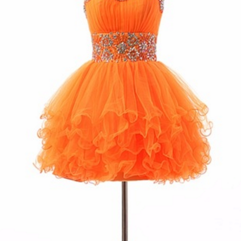Adorable custom gown worn by the royal cocktail dress orange